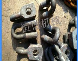 锻打双孔连接环 矿用连接环  双孔连接环使用说明