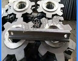 七星轮 矿用刮板机链轮  40T刮板机链轮规格型号齐全