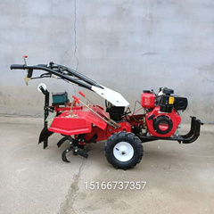 小型轻便式柴油汽油开沟旋耕机多功能除草机好操作