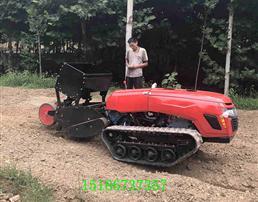 履带式遥控微耕机多功能旋耕机果园施肥机
