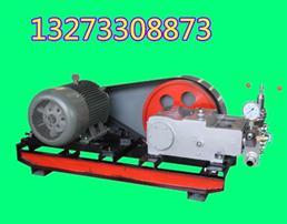大流量电动试压泵主要是由哪些部件组成