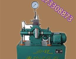 压力自控电动试压泵专业厂家解说产品性能