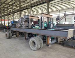 移动制沙机可移动场地施行快捷高产碎沙