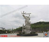 重庆华阳雕塑/仙女雕塑/四川景区雕塑/广场雕塑
